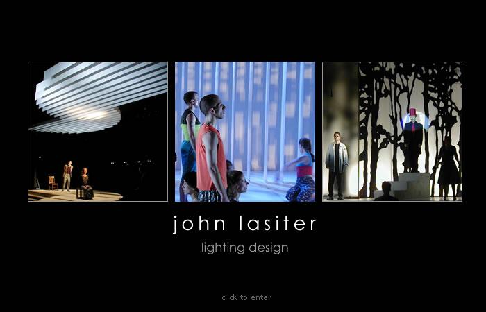 Portfolio John Lasiter Lighting Designer